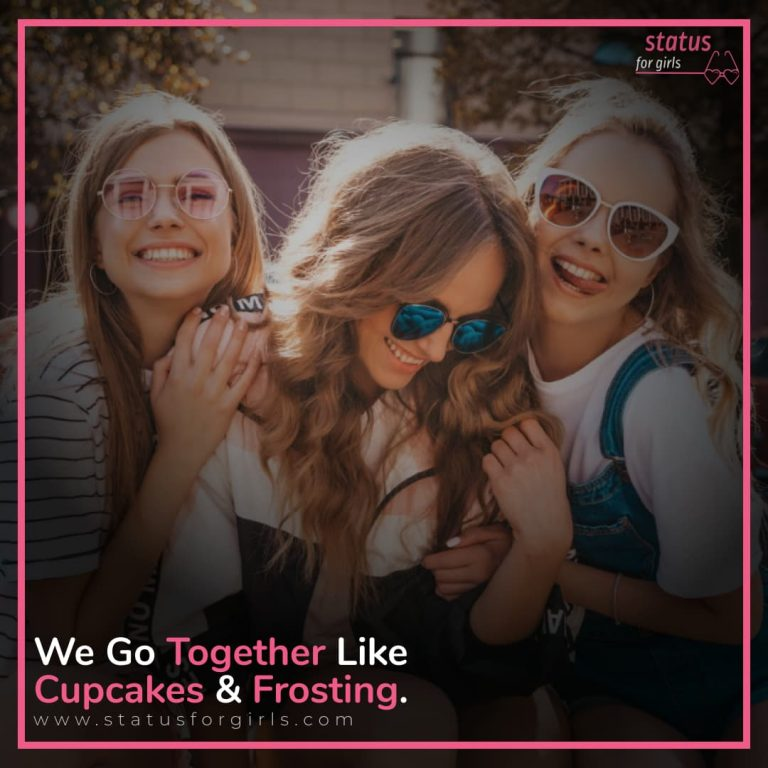 We go together like cupcakes & frosting.