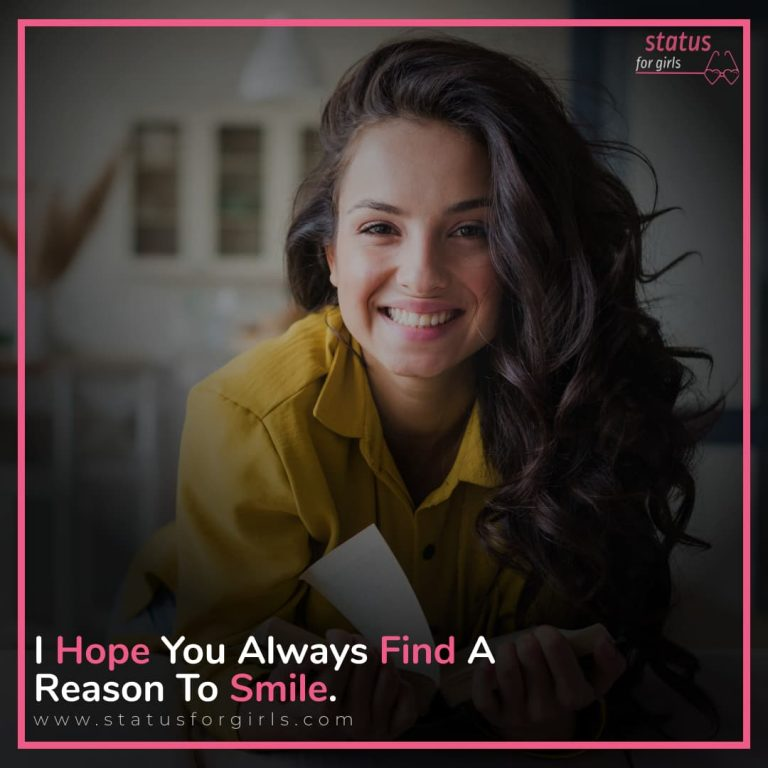 """""""I Hope You Always Find A Reason To Smile ."""""""