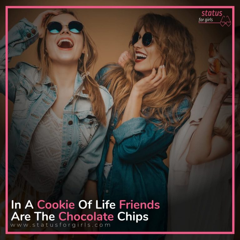 in a cookie of life Friends Are The Chocolate Chips