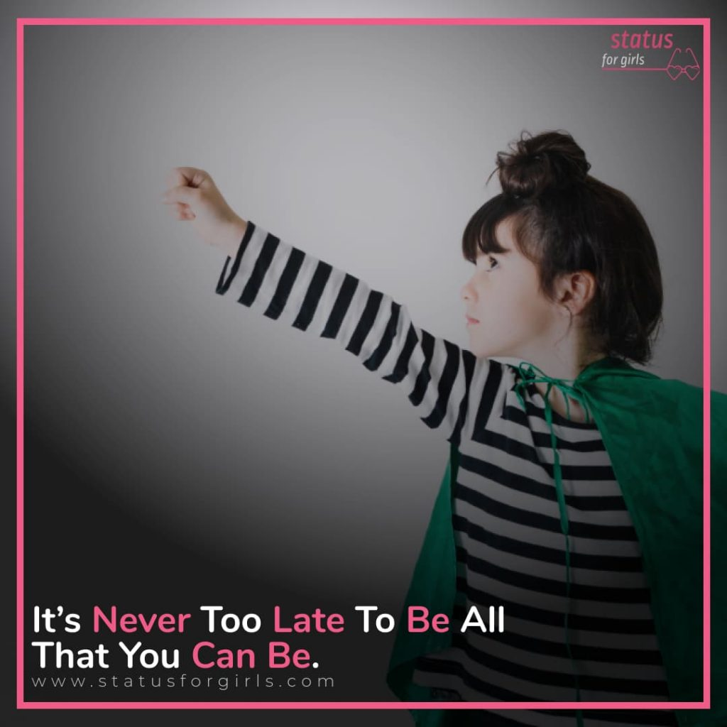 It's never too late to be all that you can be.